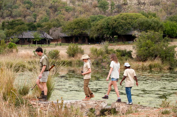 Bush walking safaris in Pilanesberg National Park.