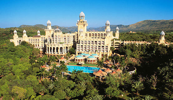 The Lost Palace Hotel at Sun City Resort.