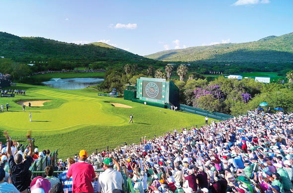 Nedbank Golf Challenge at Sun City Resort.