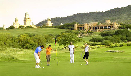 Golf at Sun City Resort.