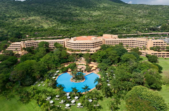 Sun City Hotel in South Africa.