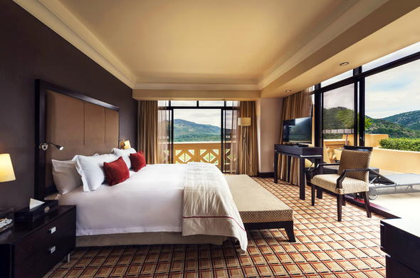 Presidential Suite at Sun City Hotel.