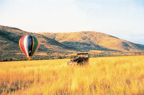 Hot Air Balloon rides near Sun City.