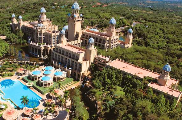 Aerial View Of Palace The Lost City Hotel At Sun Resort